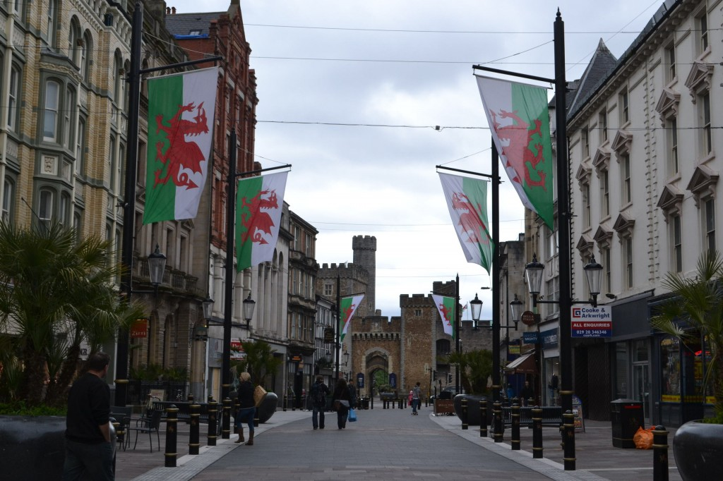 Calle Principal de Cardiff