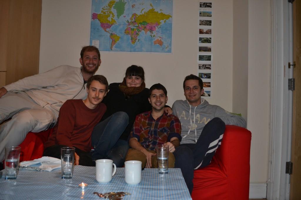 Los chicos de CouchSurfing