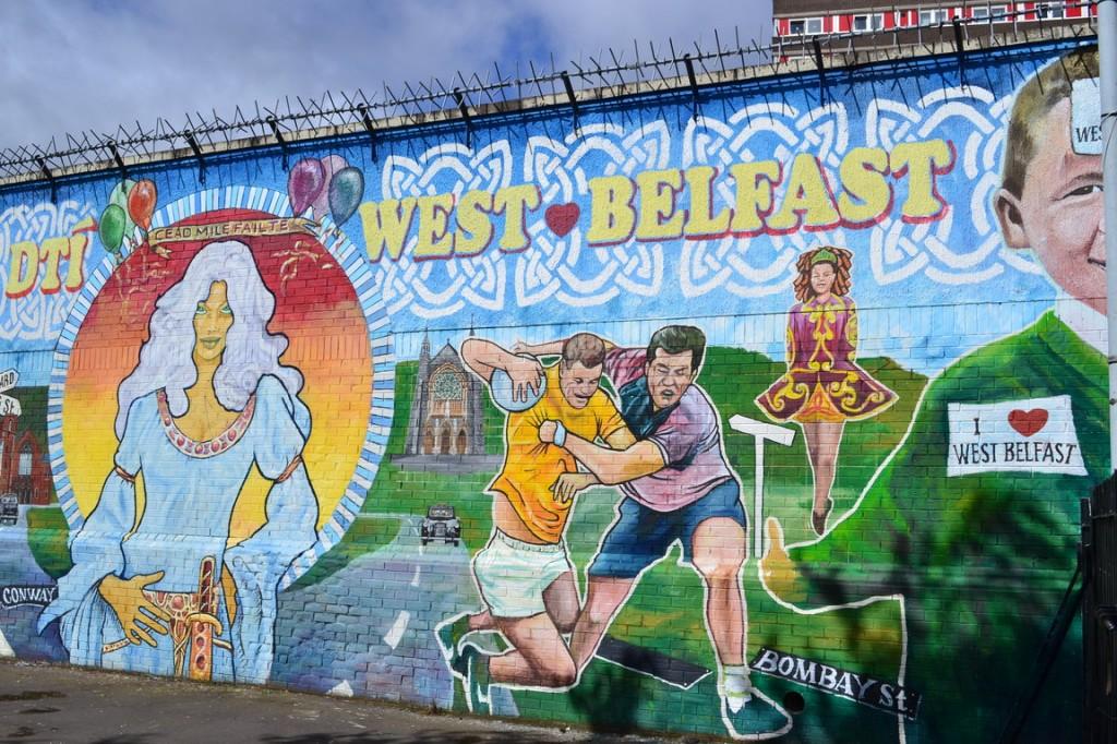 Bienvenida al West Belfast