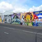 Muro Internacional. Falls Road