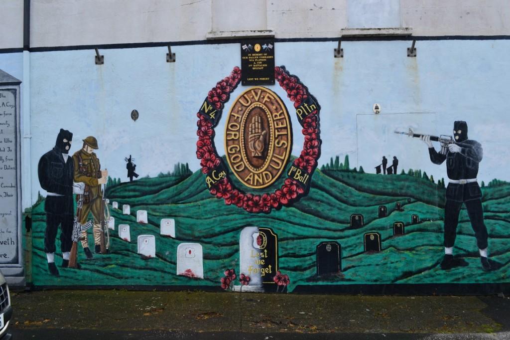 Shankill Road: Conmemoración por los caídos de un batallón