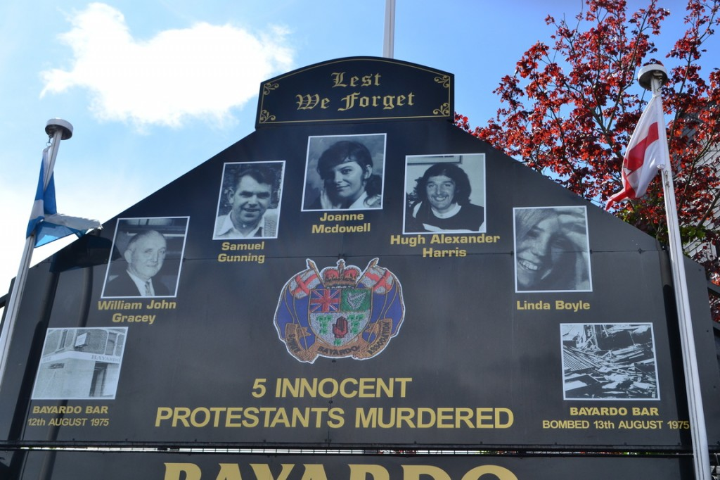 Shankill Road: Inocentes protestantes muertos