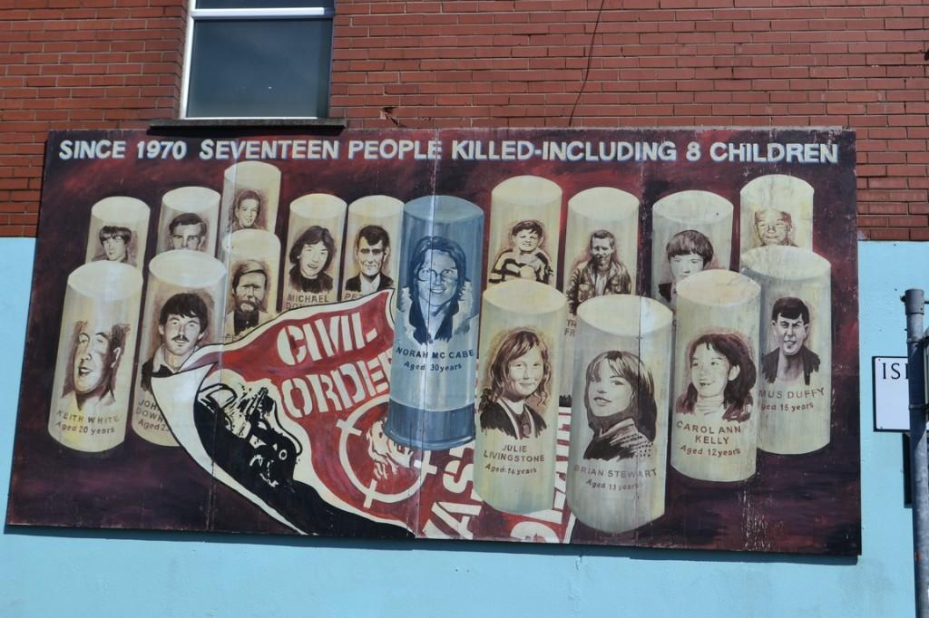 Murales en Falls Road