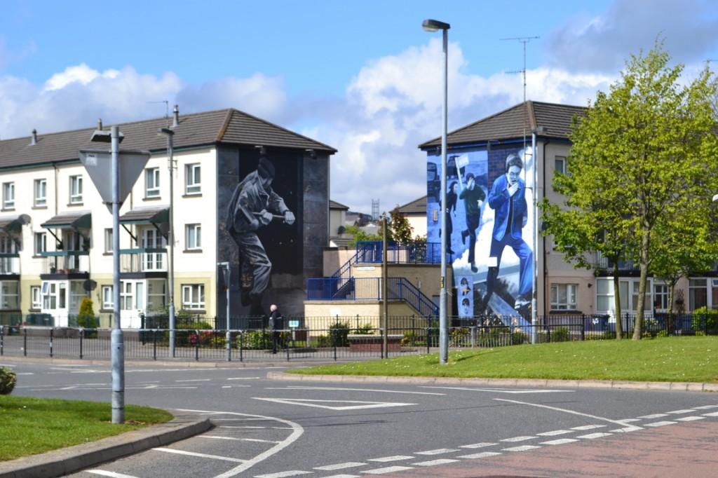 Derry: Barrio católico
