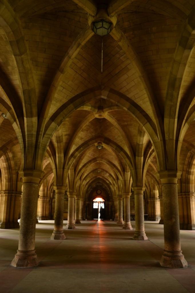 Hall de la Universidad de Glasgow