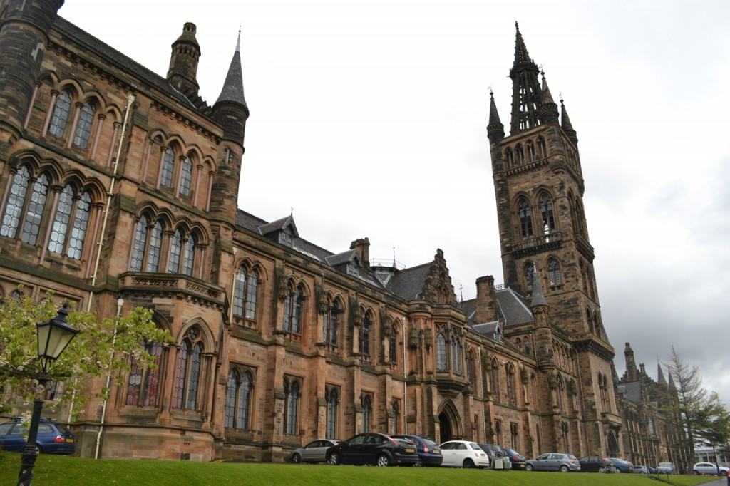 Edificio de la Universidad de Glasgow