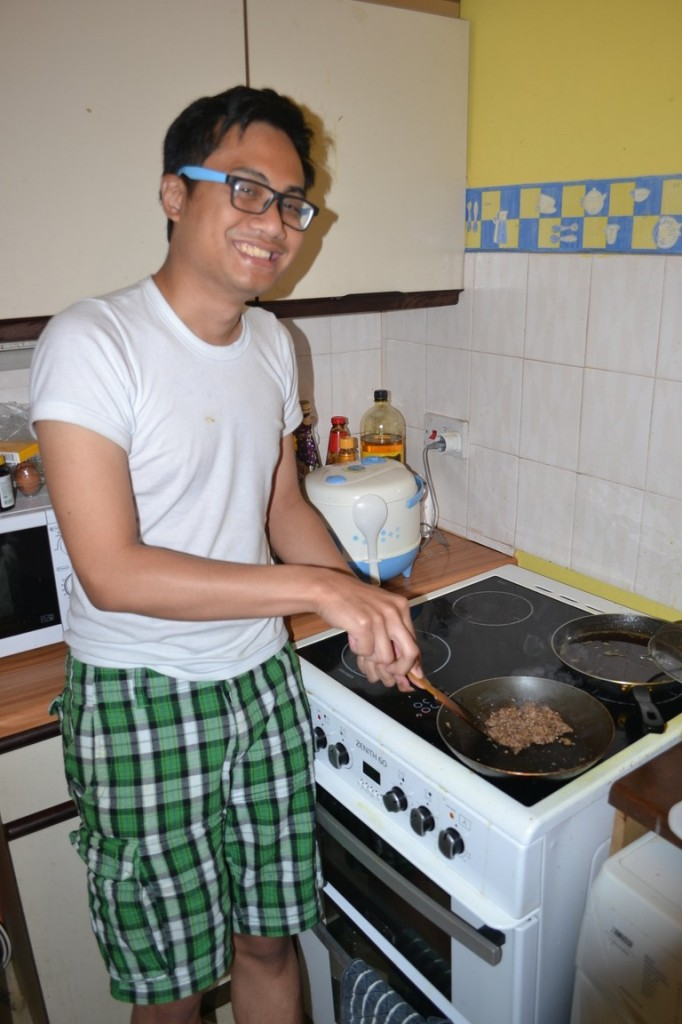 Nares cocinando