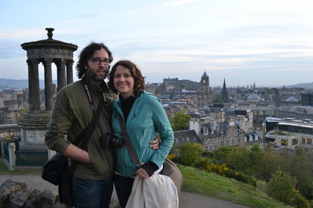 Lena y Aaron, los backpackers of memories