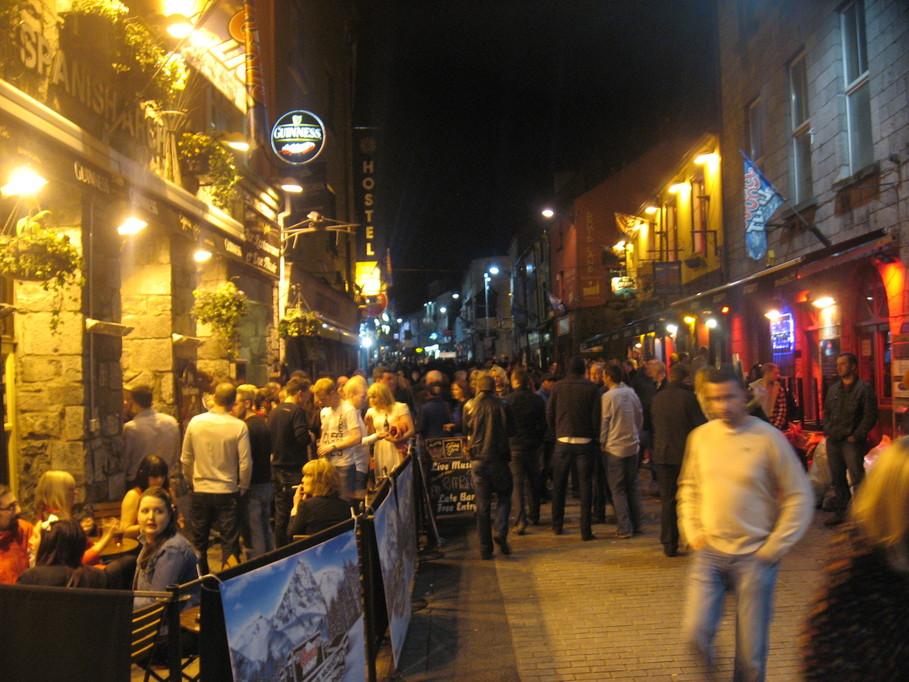 Galway de noche
