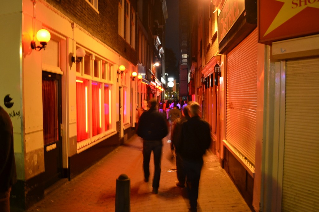 Sexo de calles rojas