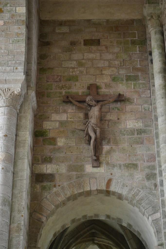 Cristo en la iglesia abacial