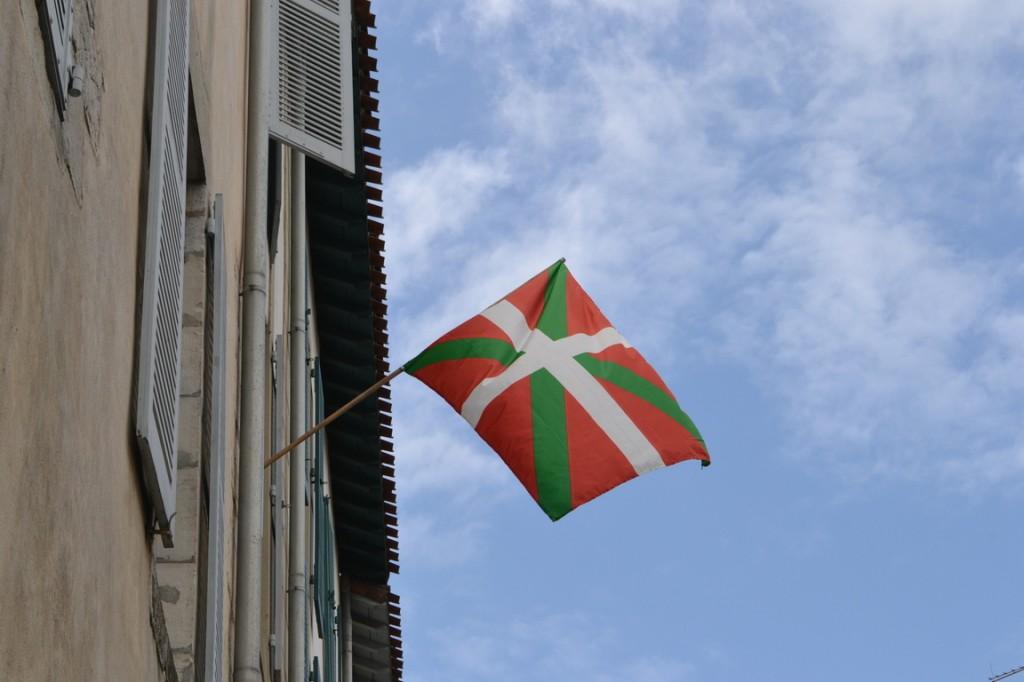 La bandera de Euskadi, el país vasco