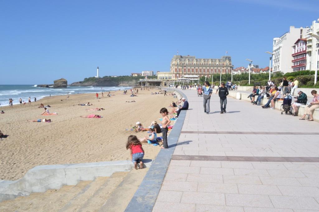 ¿Es Biarritz o Mar del Plata?