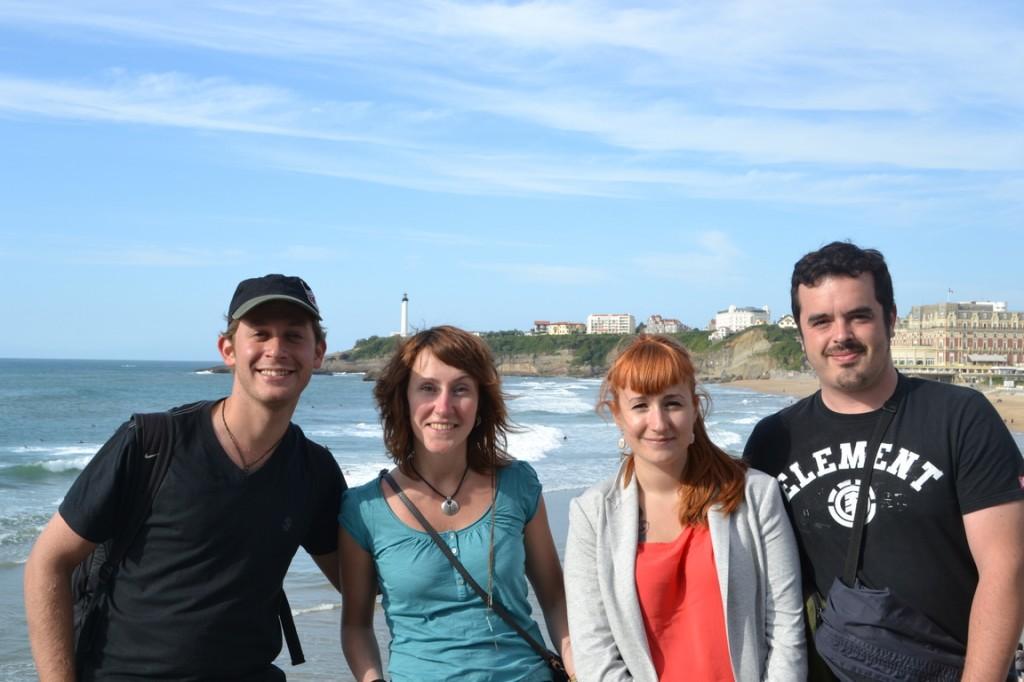 ¡Con los amigos de Bayona!
