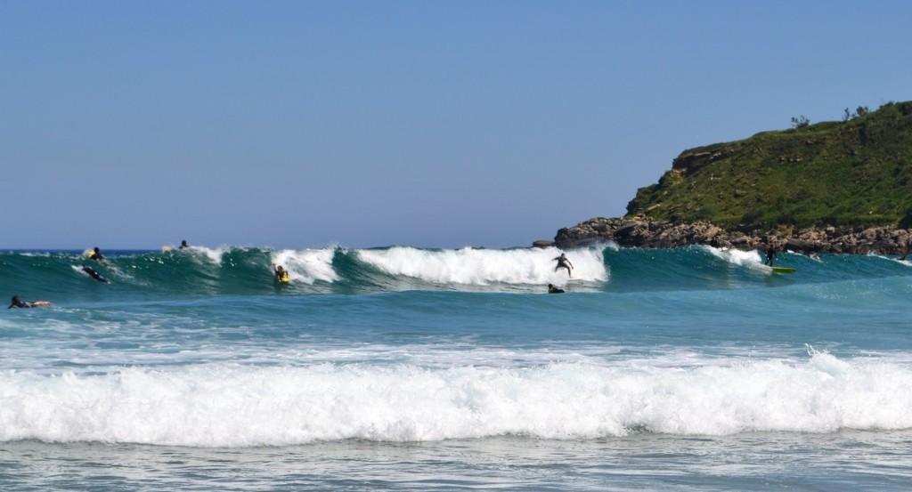 Surf en San Sebastián