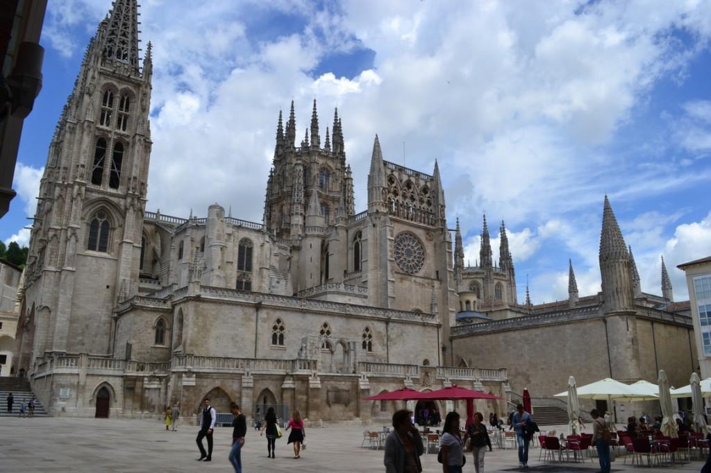 La imponente catedral de Burgos