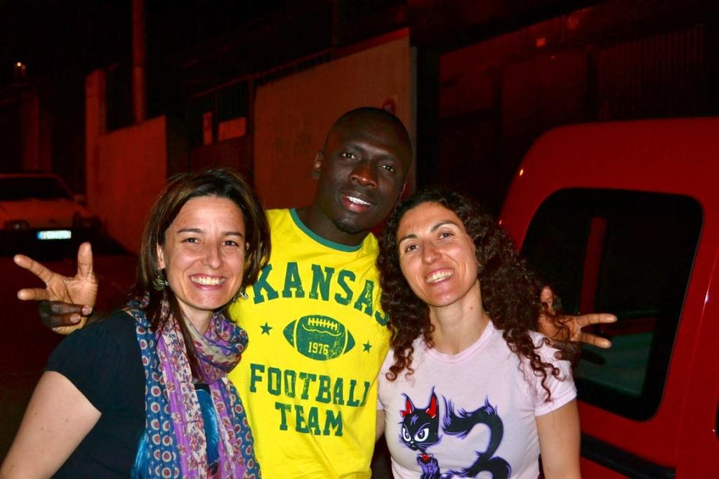 Lucía, Louis y Sofi, la hospitalidad personificada en Cuéllar