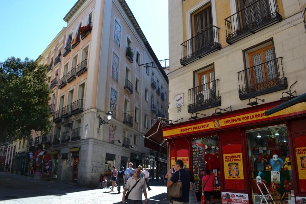 El Casco viejo de Madrid