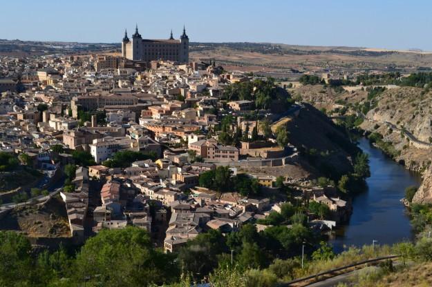 La famosa ciudad de Toledo