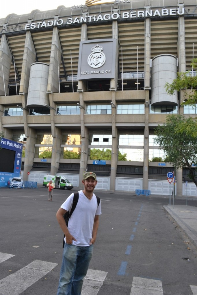 En el Santiago Bernabeu, estadio del Real Madrid