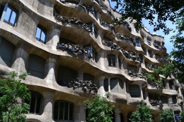 Casa La Pedrera. Diseño de Gaudi