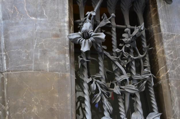 Diseños de Gaudi en el Palau Guell