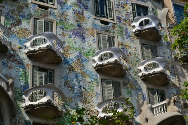 Casa Batlló. Diseño de Gaudi