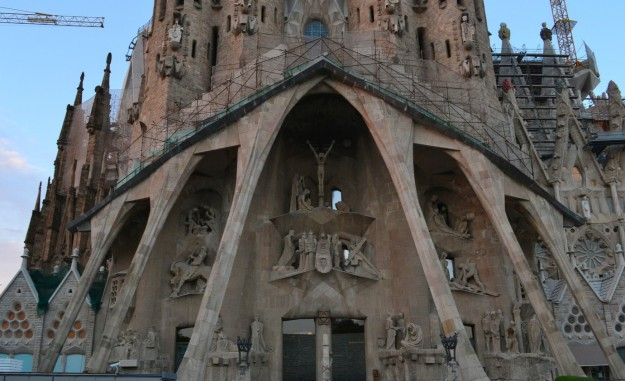 Fachada de la Pasión - Sagrada Familia
