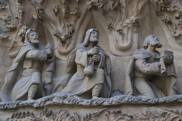 Adoración de los Reyes Magos. Basílica de la Sagrada Familia