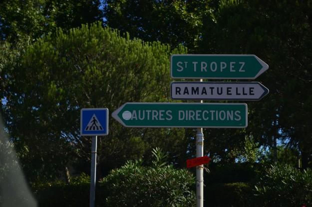 Llegando a Saint Tropez