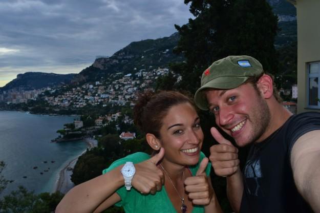 Felices tras visitar Mónaco