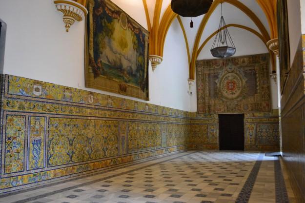 Salones del Alcázar Real de Sevilla