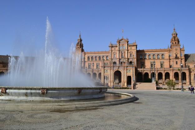 Plaza España. Sevilla