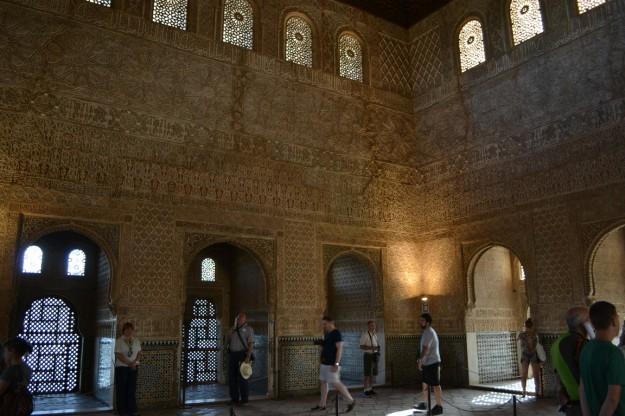 Palacios Nazaríes. Alhambra de Granada