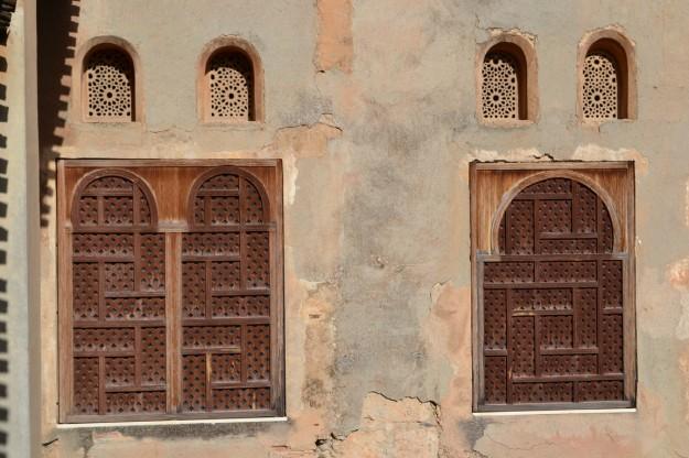 Detalles de La Alhambra de Granada
