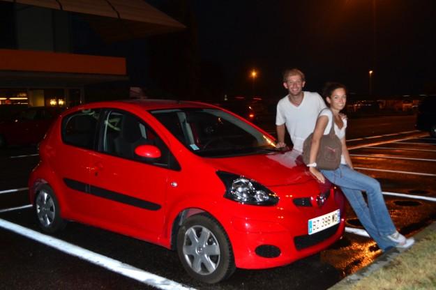 Los gourmets de gasolineras, con el Toyotita