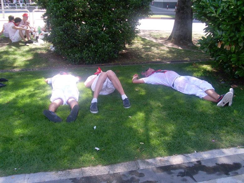 Caídos en combate de San Fermín