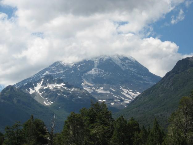 Volcán Lanin (tapado) - Patagonia Argentina - Año 2008