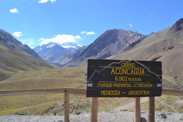 Cerro Aconcagua (tapado) - Mendoza, Argentina - Año 2012