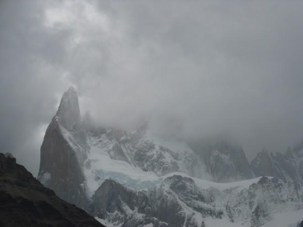 Cerro Fitz Roy (tapado) - Patagonia Argentina - Año 2009