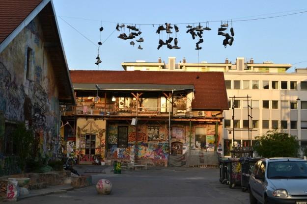Viejos barrios reciclados en Ljubljana