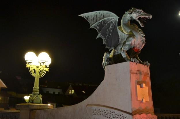 """El """"puente de los dragones"""", Ljubljana"""