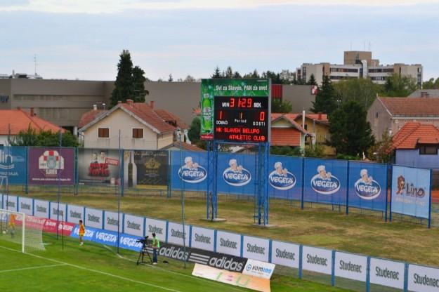 Partido entre el Slaven Belupo de Koprivnica y Athletic Club de Bilbao