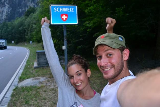 ¡Bienvenidos a Suiza!