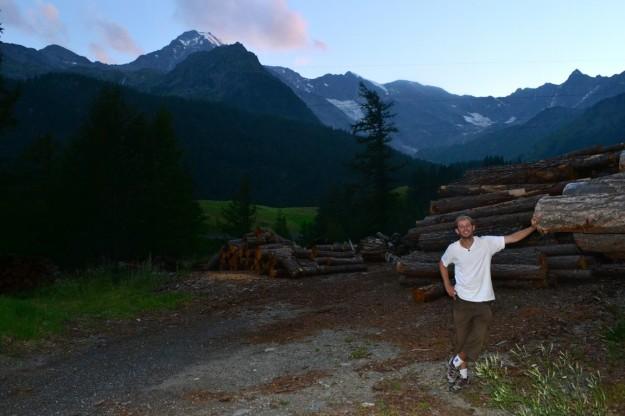 Los leñadores de los Alpes Suizos