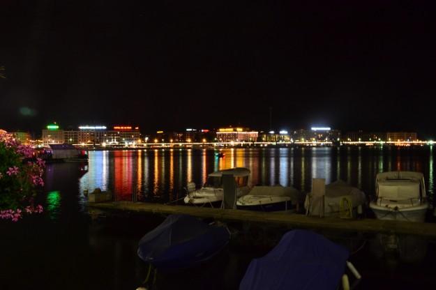 Ginebra de noche