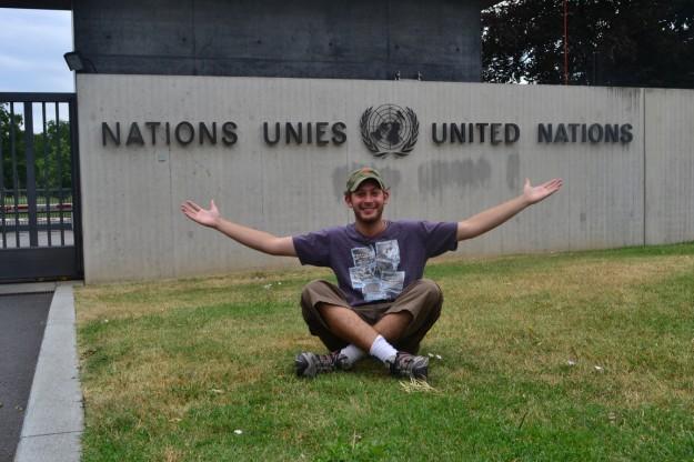 En la sede europea de las Naciones Unidas - Ginebra