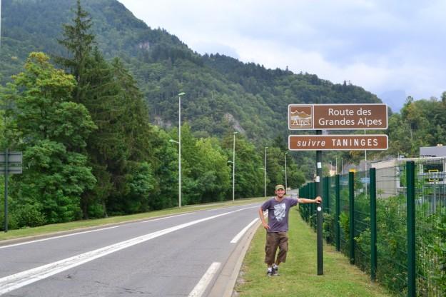 La Ruta de los Grandes Alpes, con un clima que jugaría en contra