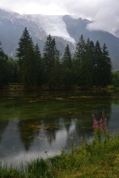 Nuestro lago paradisíaco en Chamonix-Mont-Blanc