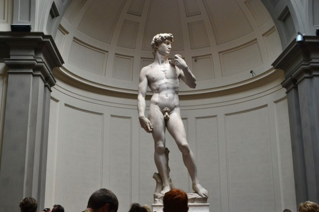 """David"" de Miguel Angel - Galleria dell'Accademia, Florencia"